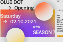 Otvaranje sedme sezone kluba DOT - Kid Kimijev rođendanski party