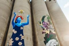 Zaokružena letnja sezona beogradskih Silosa uz završetak velikih murala Jane Danilović i TKV