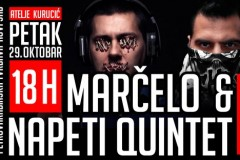 Bend ISKAZ i Marčelo & Napeti Quintet pred novosadskom publikom, 29. oktobra!