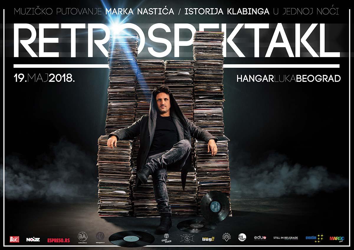 Marko Nastic, Retrospektakl