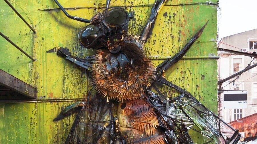 bordalo 2 pčela lisabon