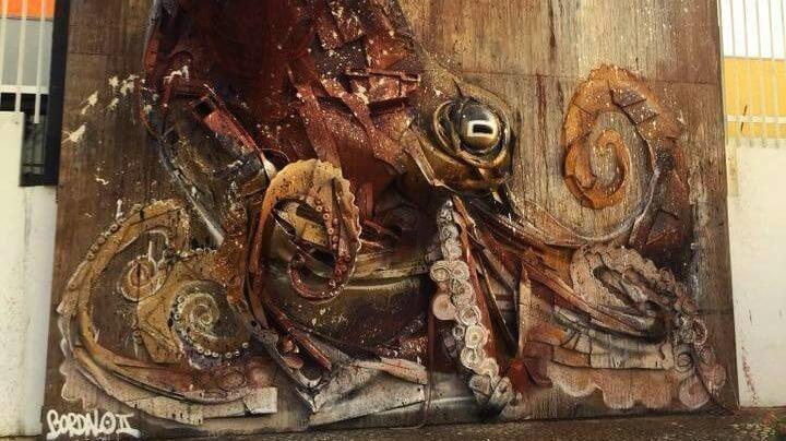 bordalo oktopus lisabon