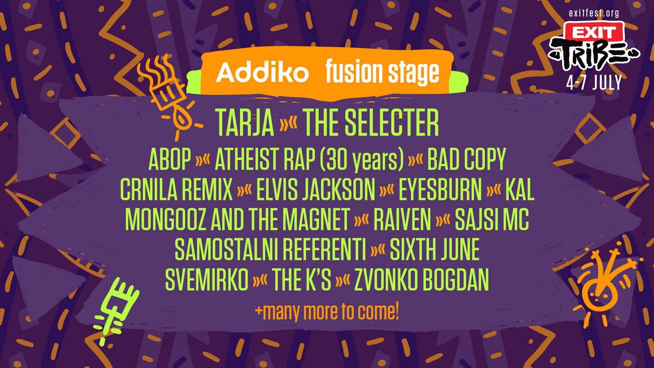 Fusion Stage Exit Festival 2019