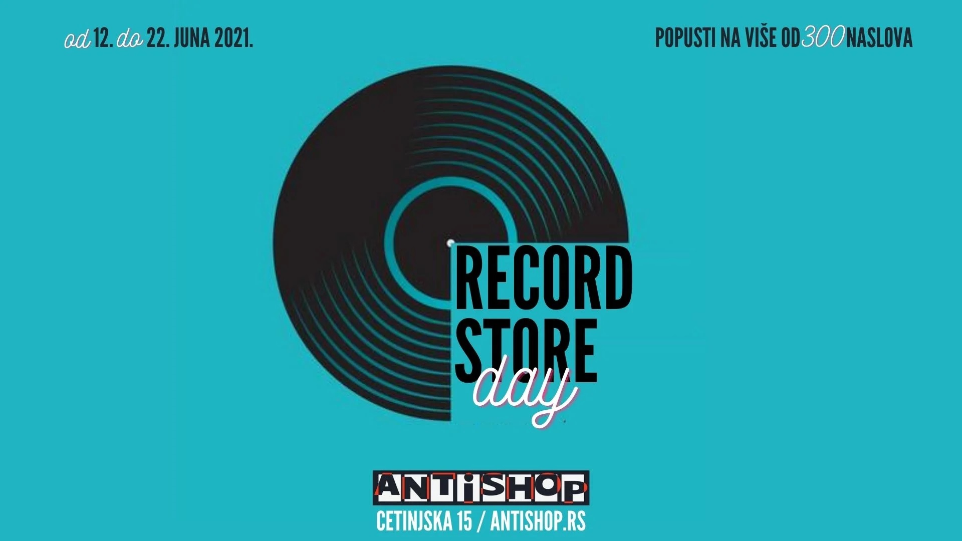 Record Store Day, Anti Shop