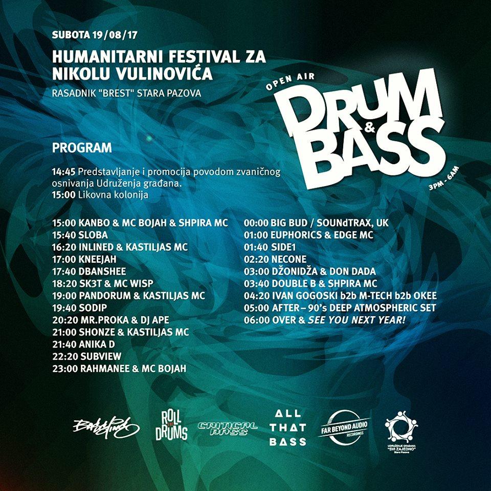 Open air Drum & Bass - Humanitarni festival elektronskog zvuka!