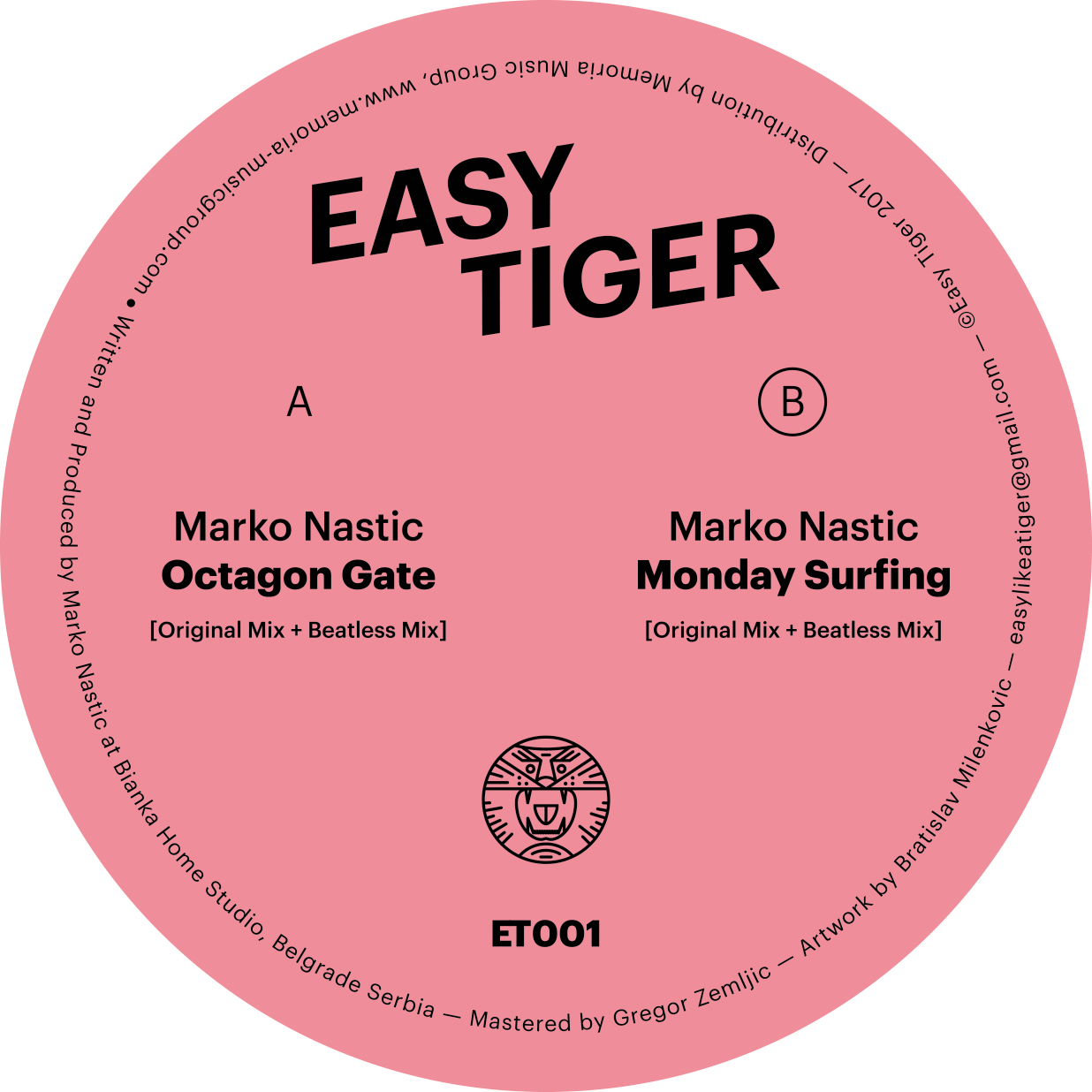 Marko Nastic Easy Tiger