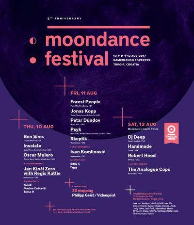 Moondance festival Line up