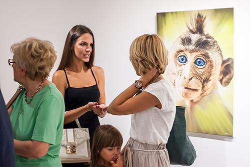 Aleksandar Jovković JA MAJMUN: Otvorena izložba fotografija u galeriji O3one Art Space