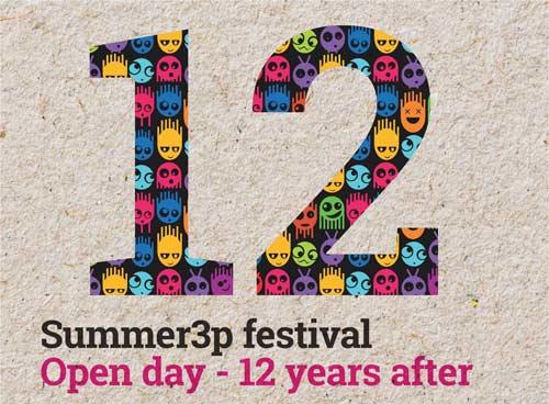 Summer3p festival proslavlja jubilej! Koncert, monografija, izložbe, radionice, žurke!