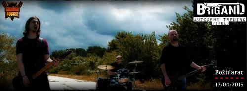 Alternativni sastav BRIGAND nastupa na VRAČAR ROCKS festivalu! | Božidarac | Beograd | 2015