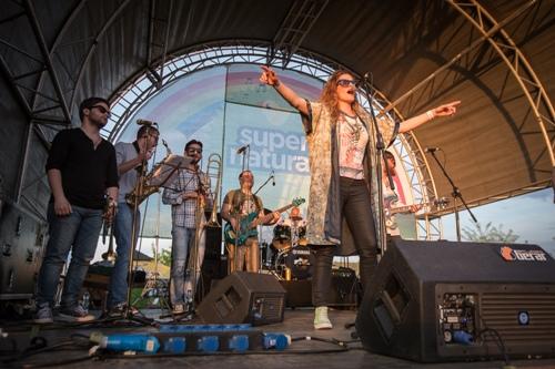Deveti Supernatural festival okupio 10.000 posetilaca! | Ada Huja | Beograd | 2015