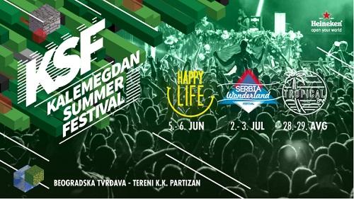 Svetske DJ zvezde ovog leta na Beogradskoj tvrđavi!   KALEMEGDAN SUMMER FESTIVAL   Beograd  2015