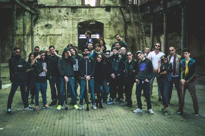 ONI PREUZIMAJU BEOGRAD: 9 ekipa i 24 izvođača na drugoj po redu LOCALS žurci! Klub KPGT | 2015