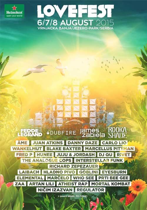 Lovefest 2015: Fedde Le Grand, Dubfire, Booka Shade i Laibach zvezde FESTIVALA LJUBAVI! | Vrnjačka banja