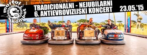 MORTAL KOMBAT: Tradicionalni nejubilarni Antievrovizijski koncert! | Bašta Sava Centra | Novi Beograd | 2015