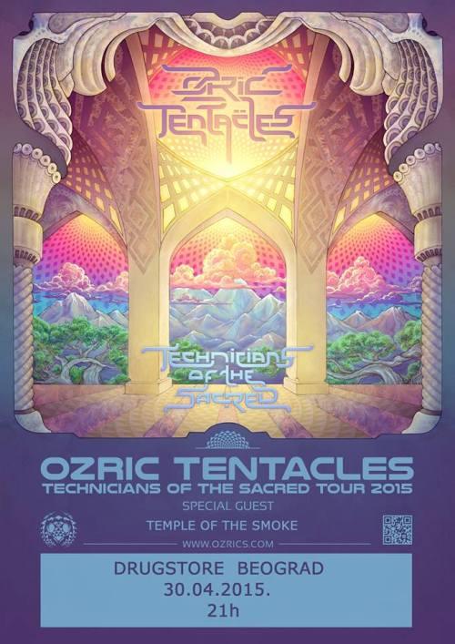 OZRIC TENTACLES: Legendarni britanski sastav prvi put u Beogradu! | Klub Drugstore | Beograd | 2015