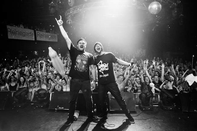 El Hornet i MC Verse u Barutani kao Pendulum DJ set! | Barutana | Beograd | 2015