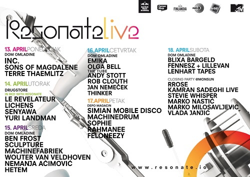 RESONATE festival 2015:  Jugoslovenska kinoteka centralno mesto dnevnog dela festivala!   Beograd   2015