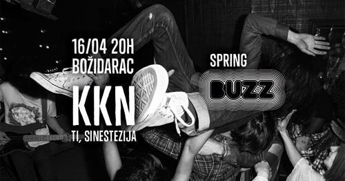 SPRING BUZZ: Velika rokenrol žurka u Božidarcu! | Kanda Kodža i Nebojša | Grupa Ti | Sinestezija | Beograd | 2015