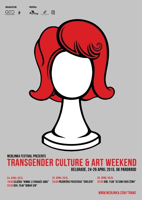 Vikend transrodne kulture i umetnosti! | Ustanova kulture Parobrod | Beograd | 2015