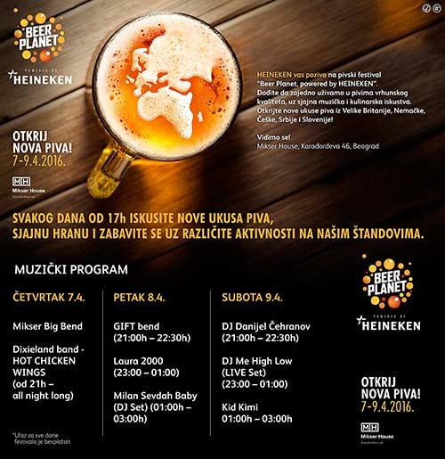 HEINEKEN Beer Planet