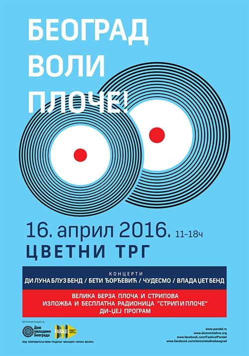 Beograd voli ploče