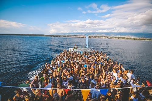 Boat party na Sonus festivalu