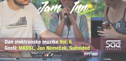 Dan elektronske muzike Vol. 6 - Jam Inn radionica
