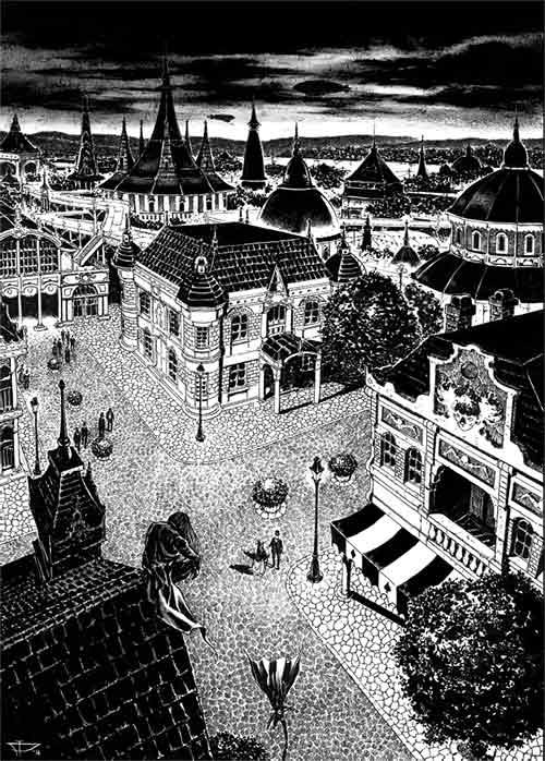"""Strip """"Družina Dardaneli: Zločin na Svetskoj izložbi"""""""