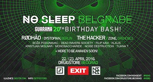 No Sleep Weekend Beograd