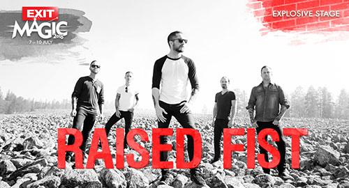 Exit festival 2016: Raised Fist