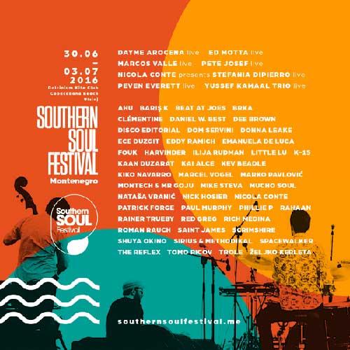 Southern Soul Festival 2016 Line Up