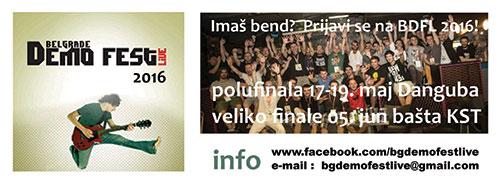 Belgrade Demo Fest Live