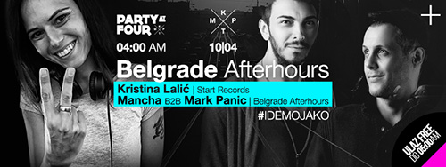 Belgrade afterhours: Kristina Lalić, Mancha i Mark Panic