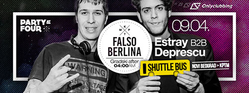 Party at four: Falso Berlina