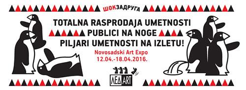 Šok zadruga: Piljari umetnosti na Art Expo 2016