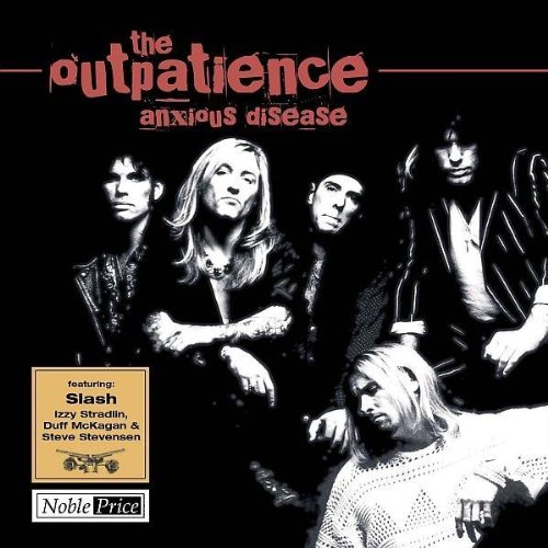 THE OUTPATIENCE CD ANXIOUS DISEASE / REALITY ENTERTAINMENT