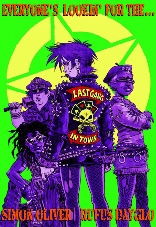 Rufus Dayglo - Last Gang in Town