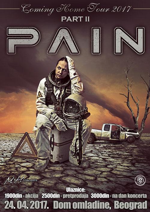 PAIN u Beogradu