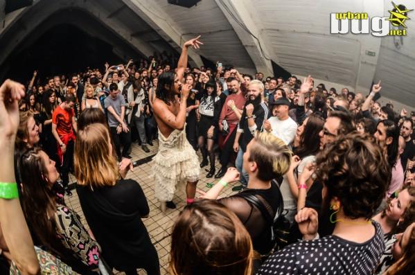 Resonate 2017: Mykki Blanco u Drugstoreu / Foto: Katarina Milošević