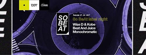So BeAt label night u DOT-u
