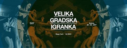 Velika gradska igranka - DJ Ike i DJ BKO