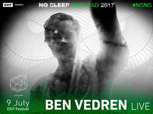 No Sleep Novi Sad - Concrete - Ben Vedren - Exit 2017
