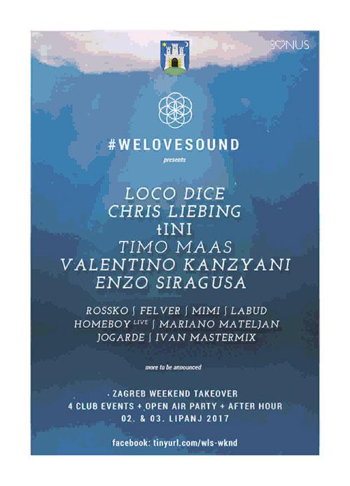 #WELOVESOUND festival - Zagreb 2017