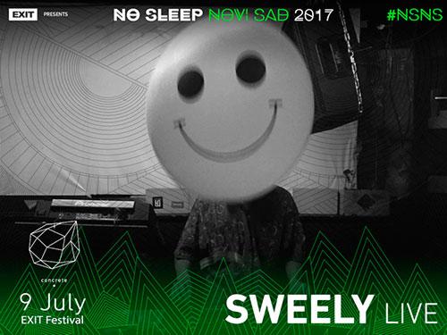 No Sleep Novi Sad - Concrete - Sweely - Exit 2017
