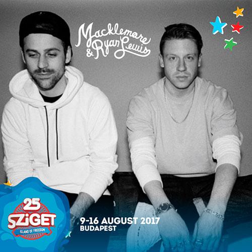 Macklemore & Ryan Lewis - Sziget 2017