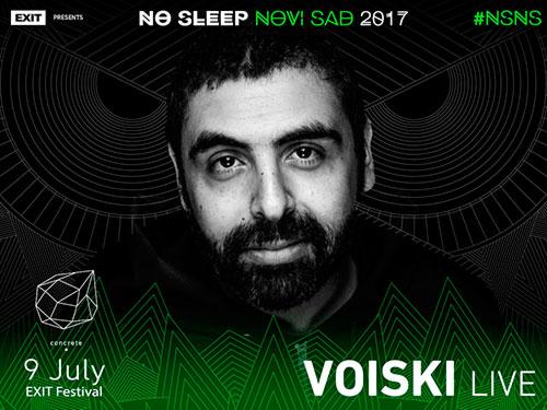 No Sleep Novi Sad - Concrete - Voiski - Exit 2017