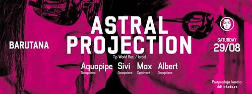 ASTRAL PROJECTION LIVE: Neprikosnoveni dvojac pod otvorenim nebom Barutane! Beograd 2015