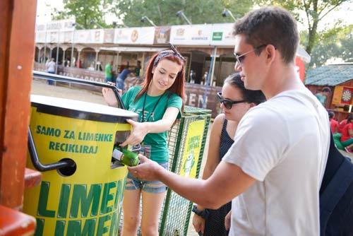 Društveno-odgovorna kampanja BIRAM DA RECIKLIRAM   Belgrade Beer Fest 2015
