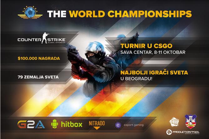 Srbija domaćin svetskog prvenstva u Counter Strike-u! | Counter Strike: Global Offensive